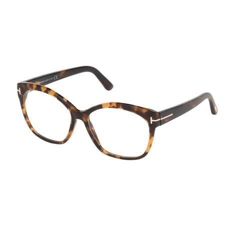 Women's Cat Eye Optical Frames // Havana