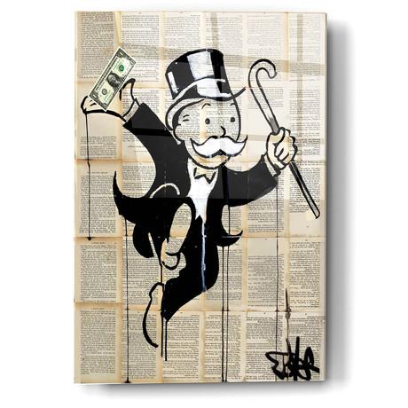 "Money Man (12""W x 16""H x 0.13""D)"