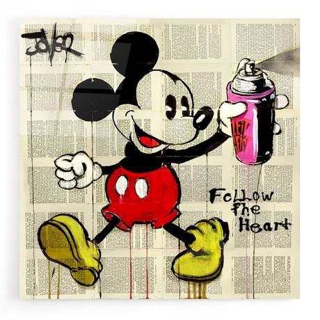 """Follow The Heart (12""""W x 12""""H x 0.12""""D)"""