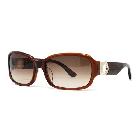 Women's SF608SA-210 Sunglasses // Brown + Reddish Brown