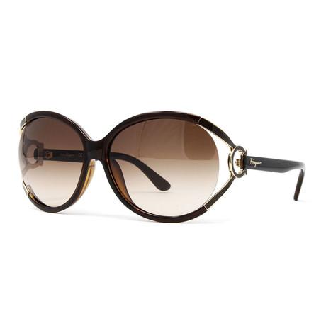 Women's SF600S-220 Sunglasses // Dark Brown