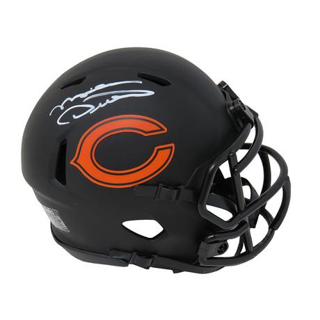 Mike Ditka // Chicago Bears // Signed Riddell Speed Mini Helmet // Eclipse Black Matte