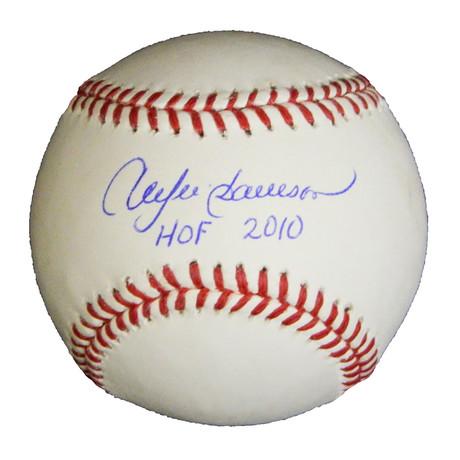 "Andre Dawson // Signed Rawlings Official MLB Baseball // ""HOF 2010"" Inscription"