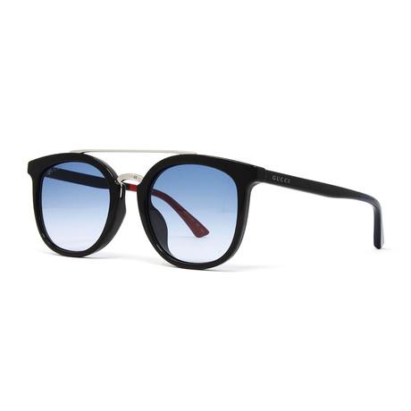 Men's GG0403SA Sunglasses // Black + Blue