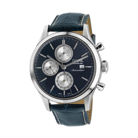 Gevril West 30th St Swiss Chronograph Automatic // 46106.3