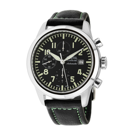 Gevril Vaughn Chronograph Swiss Automatic // 46107
