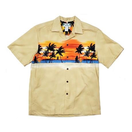 Sunset Shirt // Beige (Small)