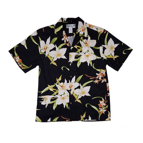 Orchid Shirt // Black (Small)