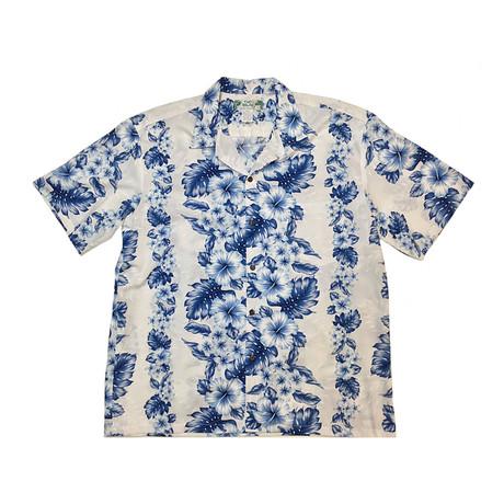 Pacific Panel Shirt // White (Small)