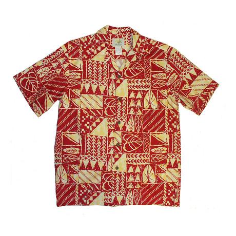 Rock Wall Shirt // Red (Small)