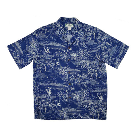 Etches of Hawaii Shirt // Navy (Small)