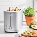 Enfinigy 2-Slot Toaster (Matte Silver)