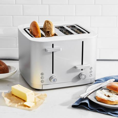 Enfinigy 4-Slot Toaster (Matte Silver)