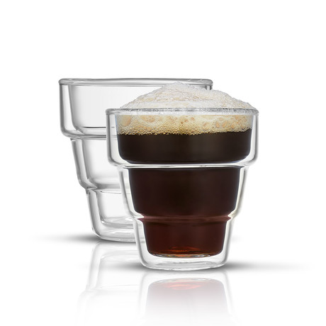 Palo Double Wall Espresso Glasses // 3 oz // Set of 2