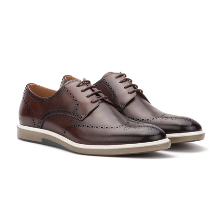 Holt Dress Shoe // Burgundy (US: 7)