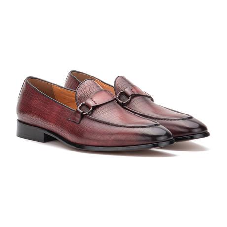 Boris Dress Shoe // Burgundy (US: 7)
