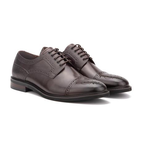 Willard Dress Shoe // Dark Brown (US: 7)