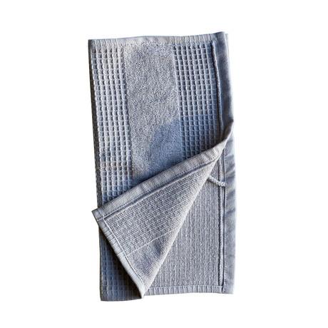 Waffle Terry Wash Towel // 4 Piece Set (Pebble Gray)