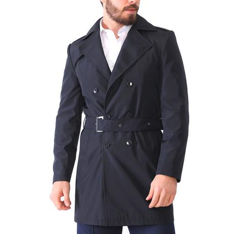 Dublin Raincoat // Dark Blue (Small)