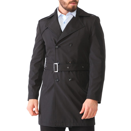 Dublin Raincoat // Black (Small)