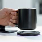 MUGGO QI // Self-Heated Mug + Wireless Charger Coaster