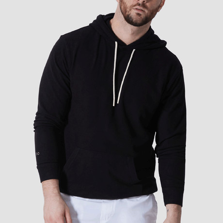 WonderKnit™ Performance Hoodie // Black (Extra Small)