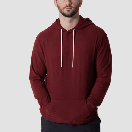 WonderKnit™ Performance Hoodie // Burgundy (Extra Small)