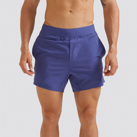 "Hi-Flex™ Training Shorts 5"" Unlined // Admiral Blue (Extra Small)"