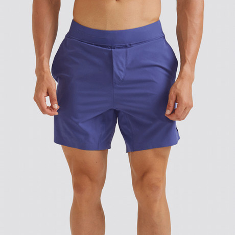 "Hi-Flex™ Training Shorts 7"" Unlined // Admiral Blue (Extra Small)"