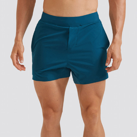 "Hi-Flex™ Training Shorts 5"" Unlined // Teal Green (Extra Small)"
