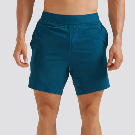 "Hi-Flex™ Training Shorts 7"" Unlined // Teal Green (Extra Small)"
