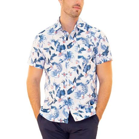 Honu Hawaiian Shirt // White (S)