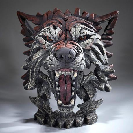 Wolf Bust