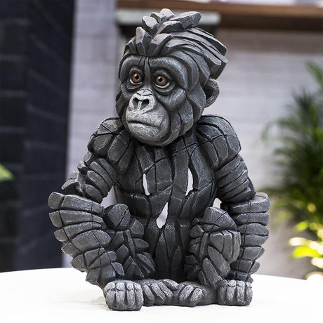 Baby Gorilla Figure