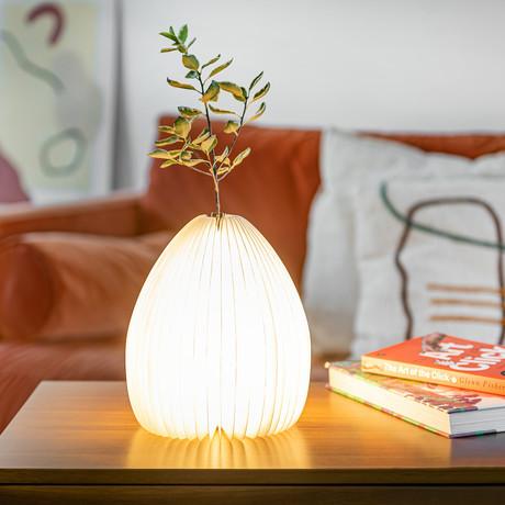 Smart Vase Light (Walnut)