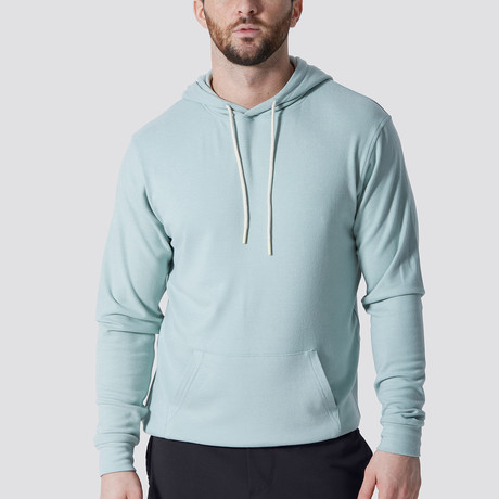 WonderKnit™ Performance Hoodie // Pastel Blue (Extra Small)