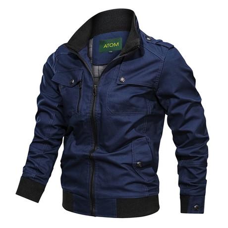 Chandler Jacket // Blue (M)