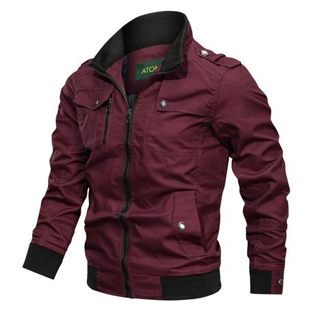 Chandler Jacket // Bordeaux (M)