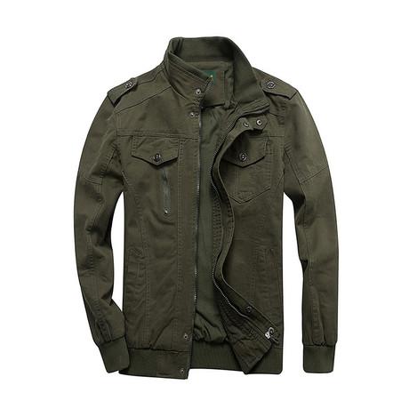 Wright Jacket // Army Green (M)