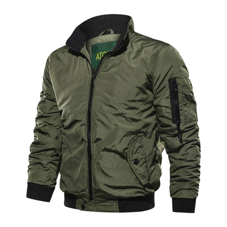 Mosley Jacket // Army Green (M)