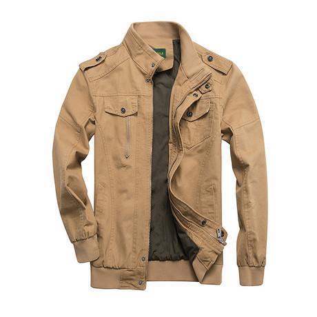 Wright Jacket // Khaki (M)