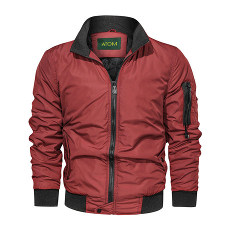 Mosley Jacket // Red (M)