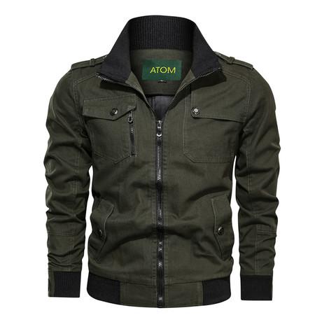 Chandler Jacket // Green (M)