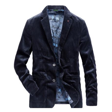 Cummings Jacket // Dark Blue (M)