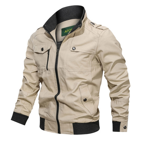 Chandler Jacket // Khaki (M)
