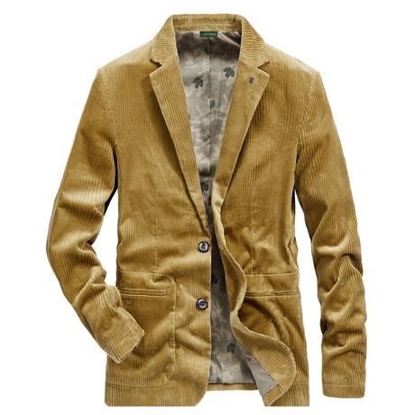 Cummings Jacket // Khaki (M)