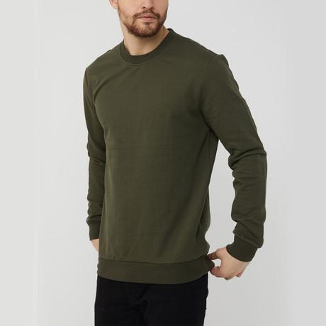 Kellen Sweatshirt // Olive (S)