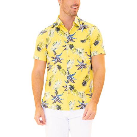 Molokai Hawaiian Shirt // Yellow (S)