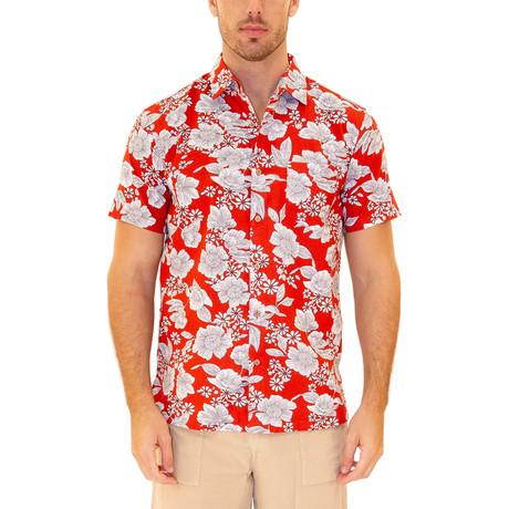 Kona Hawaiian Shirt // Red (S)