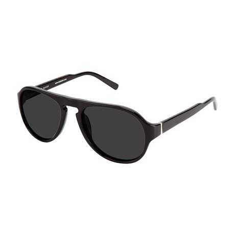 Men's Aviator Polarized Sunglasses V2 // Black